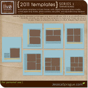 2011 Templates Series 1 - The 8.5x11 Bundle