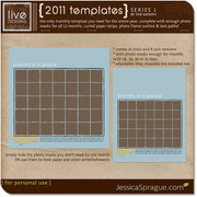 2011 Templates Series 1 - By the Month