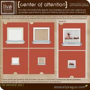 Center of Attention Album Templates Vol.1