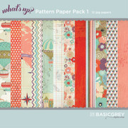 What's Up Paper Pack 1