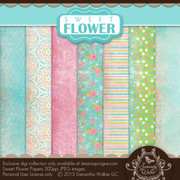 Sweet Flower Papers