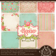 Rosie paper kit collection 2