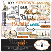 Oct 31 Title Embellishments