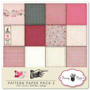 Love Note Pattern Papers 2