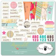 Hopscotch Embellishment Pack 1