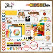 Color Me Happy Element Pack 1