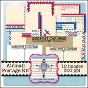 Airmail Postage Kit