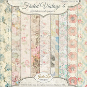 Faded Vintage Papers 4
