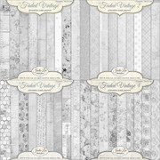 Faded Vintage Textures Set
