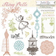 Fairy Belle Digital Stamps