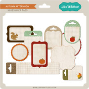 Autumn Afternoon Tag Elements