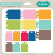 Basics Life Cards Days of Week