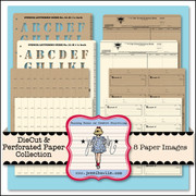 Die Cut & Perforated Paper Collection