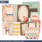 Woodland Spring Journaling Cards