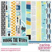 Riding the Waves Paper Set 2