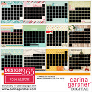 DESIGN 365 2014 A Year of Layouts Album