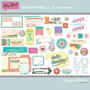 Hey Girl Element Pack 1