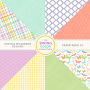 The Spring Color Collection - Paper Pack #2