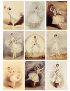 Vintage Ballerina Printable Gift Tags