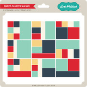 Photo Clusters 8.5x11