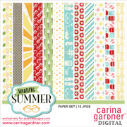 Soaring Summer Paper Set