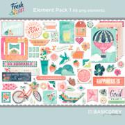 Fresh Cut Element Pack 1