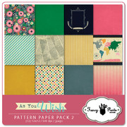 As You Wish Paper Pack #2