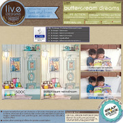 liv.edesigns / liv.eimages Buttercream Dreams - A lovely creamy retro action for Full-Version Photoshop!