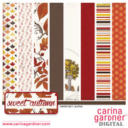 Sweet Autumn Paper Set 1