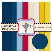 Playdate Cardstock