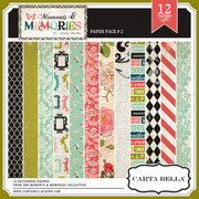 Moments & Memories Paper Pack 2