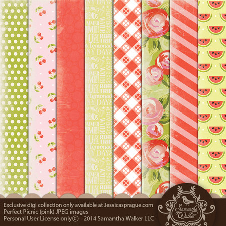 This pack features 8 decorative papers!