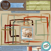 liv.edesigns Brushed Frames (Rub-Ons & Brushes) make it easy for you to frame your awesome photos with an awesome hand-painted look!
