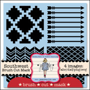 Southwest Brush Cut Mask