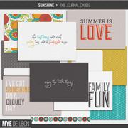 Sunshine | 4x6 Journal Cards