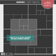 Abundance | 12x12 Templates