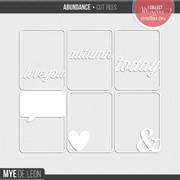 Abundance | Cut Files