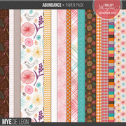 Abundance | Patterned Papers