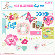 Sweet Routine Clip Art Elements pack no.3