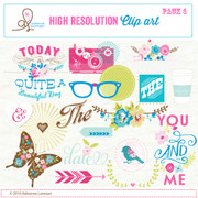 Sweet Routine Clip Art Elements pack no.4