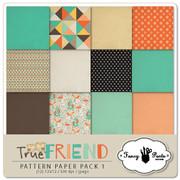 True Friend Paper Pack #1