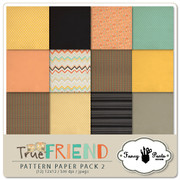 True Friend Paper Pack #2