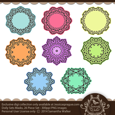 This kit comes with 26 doily masks in a .png format.