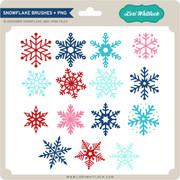 Snowflake Brushes + PNG