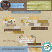 liv.edesigns Festive Washi Tape