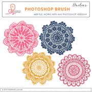 Doilies Photoshop Brush