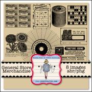 General Store Merchandise