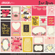 Love Stories Journaling Cards