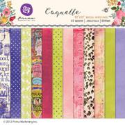 Coquette digital paper pack