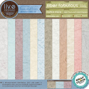 liv.edesigns Fiber Fabulous Papers tempt you to reach out and touch!